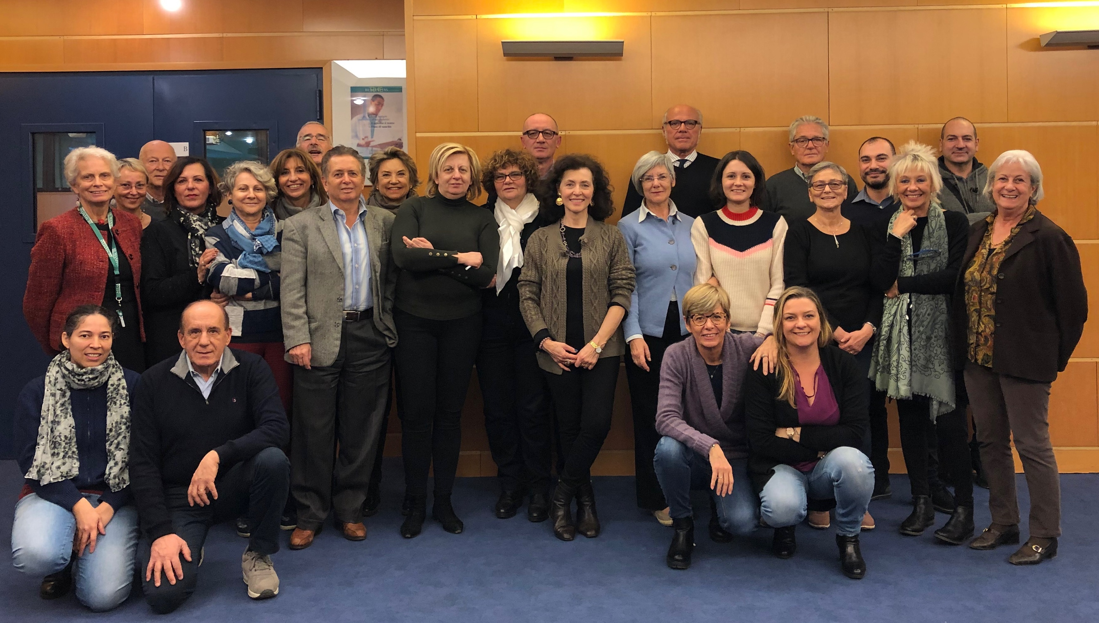 Gruppo volontari ingresso dicembre 2018